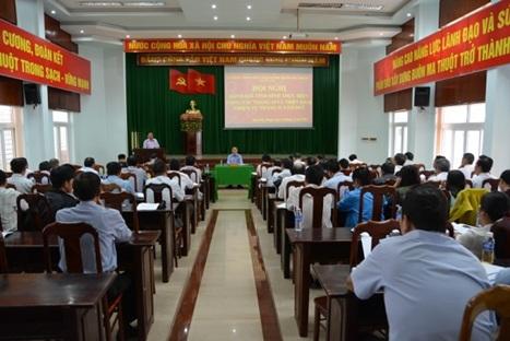 UBND thành phố Buôn Ma Thuột: Hội nghị đánh giá tình hình thực hiện công tác tháng 10 và triển khai nhiệm vụ trọng tâm tháng 11/2017