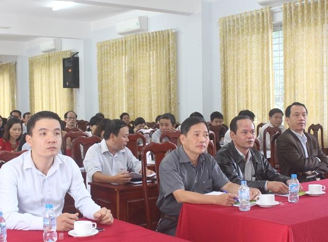 Khai giảng Lớp bồi dưỡng nghiệp vụ quản lý Nhà nước cho công chức, viên chức làm công tác tổ chức cán bộ năm 2017