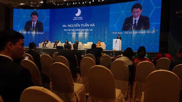 Tỉnh Đắk Lắk tham dự Hội nghị thượng đỉnh kinh doanh 2017 tại Tuần lễ Cấp cao APEC diễn ra từ ngày 07-11/11/2017