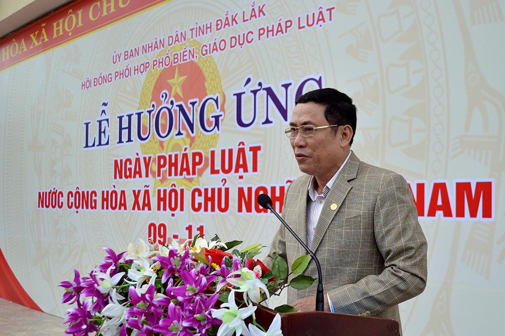 Lễ hưởng ứng Ngày Pháp luật Việt Nam năm 2017