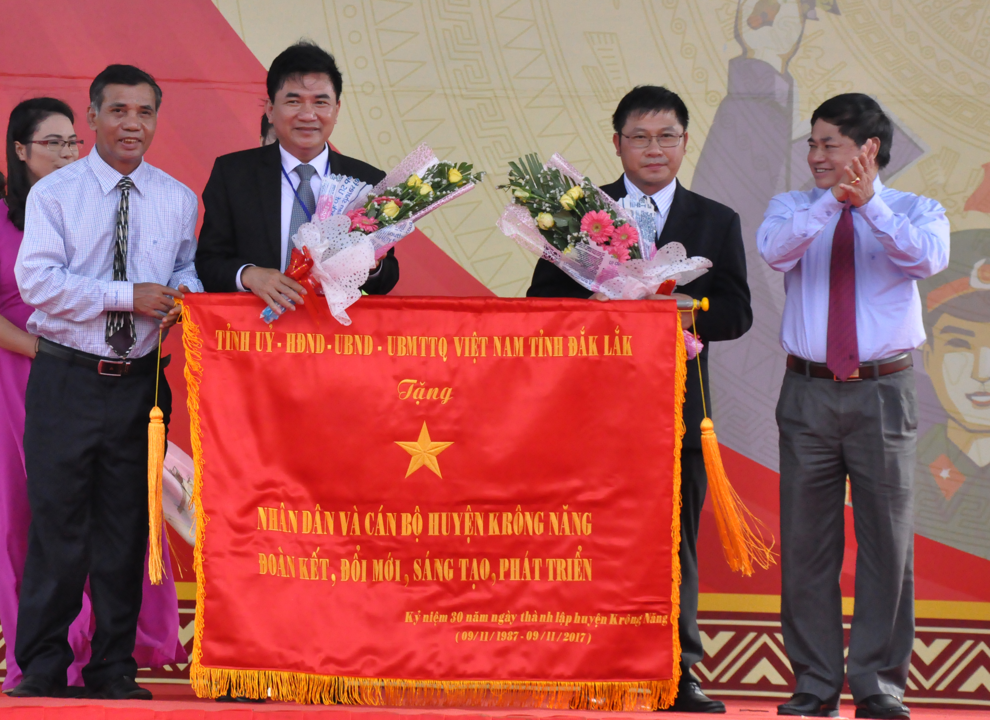 Huyện Krông Năng kỷ niệm 30 năm ngày thành lập