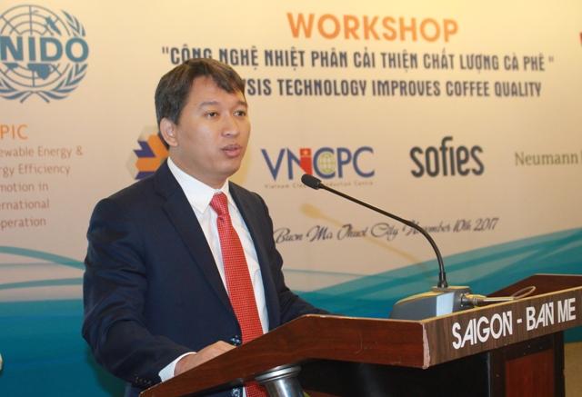 Hội thảo giới thiệu công nghệ nhiệt phân cải thiện chất lượng cà phê