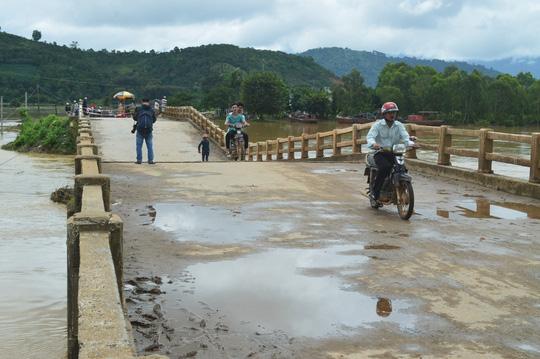 Kinh phí khắc phục hậu quả lụt bão, đảm bảo giao thông bước 1 cầu Cư Păm, km21+050, đường tỉnh ĐT. 689 (Tỉnh lộ 9).