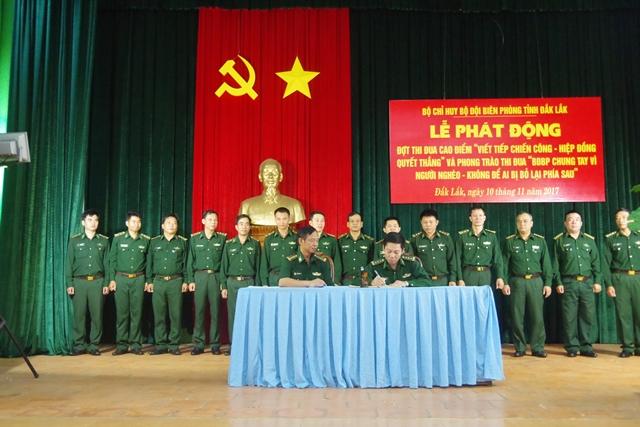 Bộ đội Biên phòng tỉnh Đắk Lắk chung tay vì người nghèo.