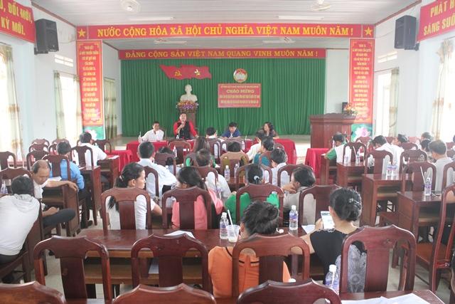 Đoàn khảo sát Ủy ban Trung ương MTTQ Việt Nam làm việc tại huyện Buôn Đôn