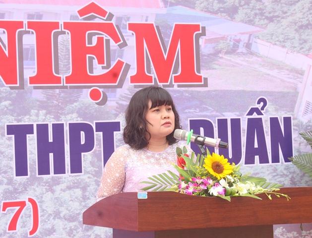 Trường THPT Lê Duẩn kỷ niệm 10 năm thành lập