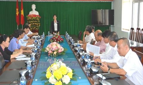 Phiên họp liên tịch chuẩn bị kỳ họp thứ 5, Hội đồng nhân dân thành phố Buôn Ma Thuột khóa XI (nhiệm kỳ 2016-2021)