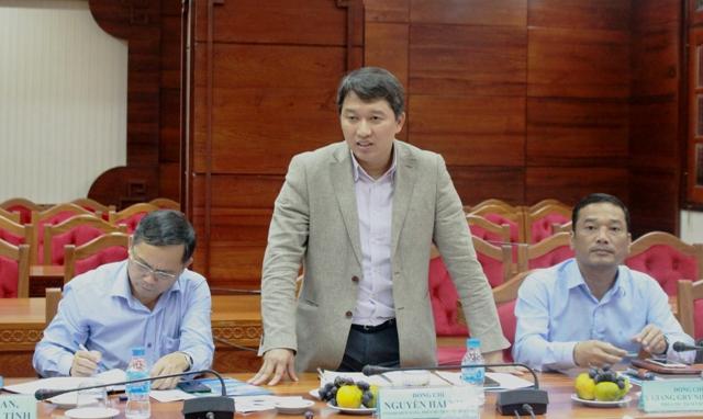 UBND tỉnh làm việc với Đoàn công tác của Đại sứ quán Đan Mạch về Dự án cấp nước sạch nông thôn