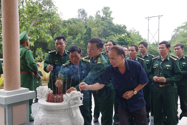 Bộ đội Biên phòng tỉnh Bình Định thăm các Đồn Biên phòng thuộc Bộ đội Biên phòng tỉnh Đắk Lắk
