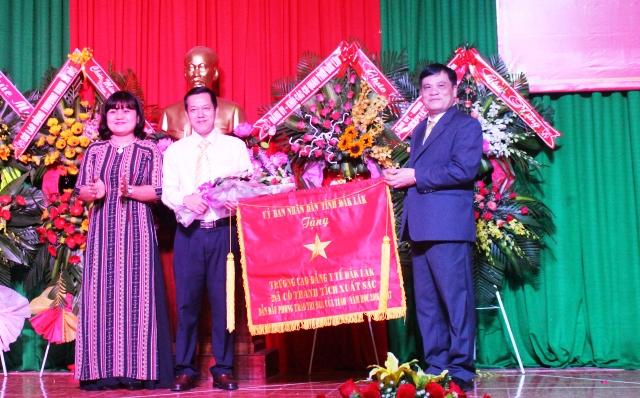 Trường Cao đẳng Y tế Đắk Lắk khai giảng năm học 2017-2018