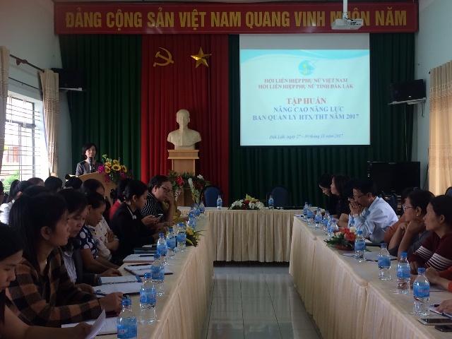Tập huấn nâng cao năng lực Ban quản lý Hợp tác xã, Tổ hợp tác