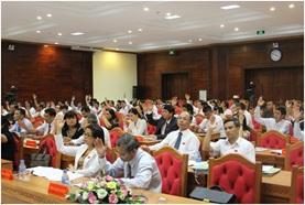 Triệu tập đại biểu HĐND tỉnh tham dự Kỳ họp thứ Năm, HĐND tỉnh, khóa IX, nhiệm kỳ 2016 – 2021.