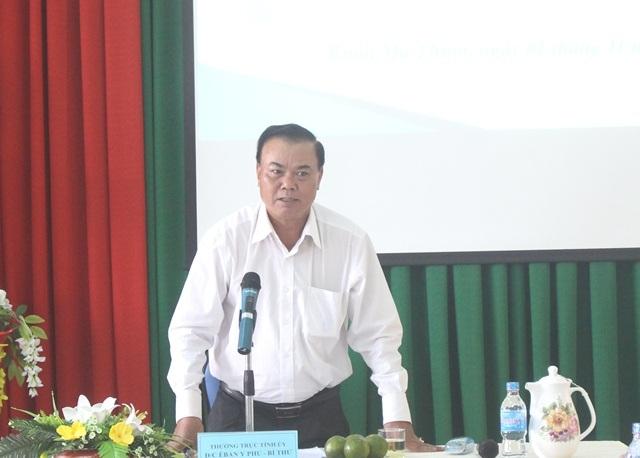 Thường trực Tỉnh ủy làm việc với Hội Liên hiệp Phụ nữ tỉnh