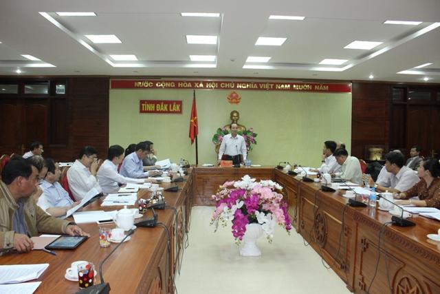 Họp Ban chỉ đạo cải cách hành chính tỉnh
