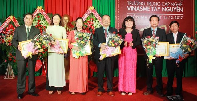 Trường Trung cấp nghề VINASME Tây Nguyên kỷ niệm 10 năm thành lập