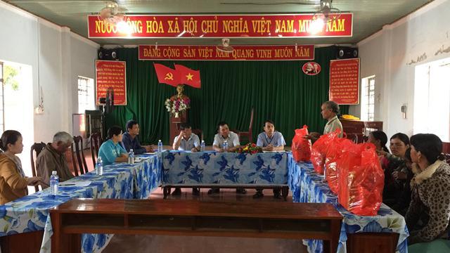 Huyện Cư M'gar tổ chức thăm và tặng 50 suất quà cho đồng bào dân tộc thiểu số nghèo, có hoàn cảnh đặc biệt khó khăn