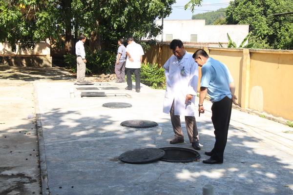 Tiến độ thực hiện dự án Hỗ trợ xử lý chất thải bệnh viện