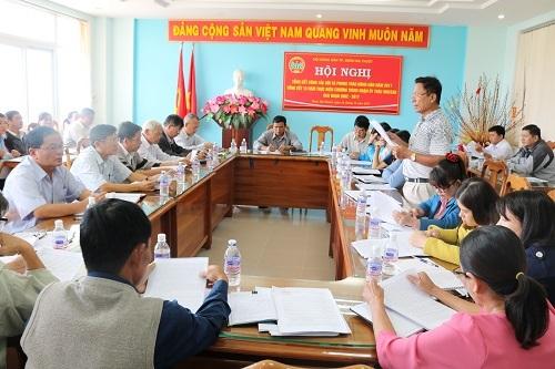 Hội Nông dân thành phố Buôn Ma Thuột, tổng kết công tác Hội và phong trào nông dân năm 2017, tổng kết 15 năm thực hiện chương trình nhận ủy thác NHCSXH, giai đoạn 2002 – 2017.