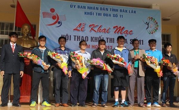 Khai mạc Hội thao Khối Thi đua số 11 năm học 2017 – 2018