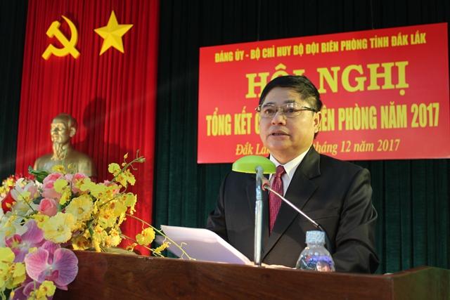 Bộ đội Biên phòng tỉnh Đắk Lắk tổng kết công tác Biên phòng năm 2017