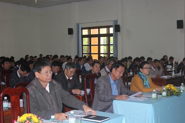 Đảng bộ huyện Cư Kuin tổng kết năm 2017 triển khai Nghị quyết năm 2018