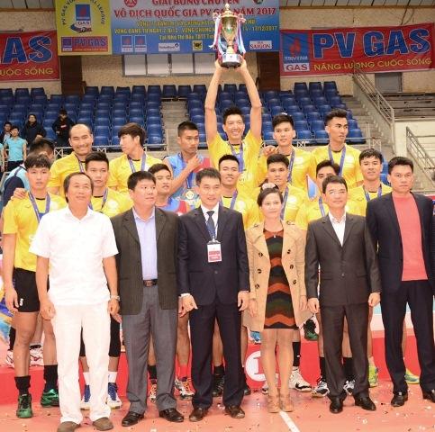 Bế mạc Giải bóng chuyền vô địch Quốc gia PV Gas 2017