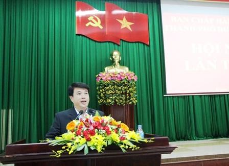 Hội nghị Ban Chấp hành Đảng bộ thành phố Buôn Ma Thuột lần thứ 15.