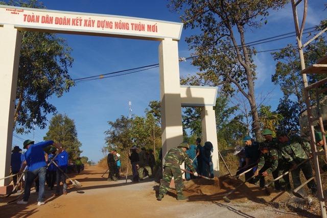 Bộ đội Biên phòng tỉnh Đắk Lắk triển khai nhiều hoạt động kỷ niệm 73 năm thành lập Quân đội Nhân dân Việt Nam