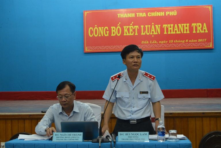 Kết quả giải quyết các vụ khiếu nại, tố cáo đông người, phức tạp trên địa bàn tỉnh Đắk Lắk