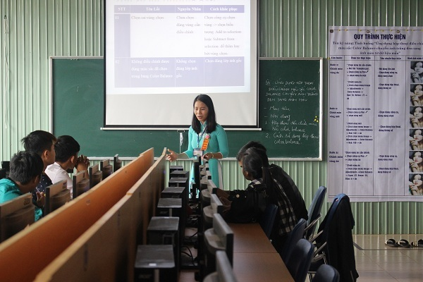 Trường Cao đẳng Công nghệ Tây Nguyên: Khai mạc Hội giảng cấp trường năm học 2017 – 2018