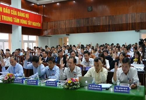 Bế mạc kỳ họp thứ 5 HĐND thành phố Buôn Ma Thuột khóa XI, nhiệm kỳ 2016 - 2021