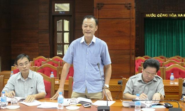 Đoàn công tác của Bộ Thông tin và Truyền thông làm việc tại tỉnh