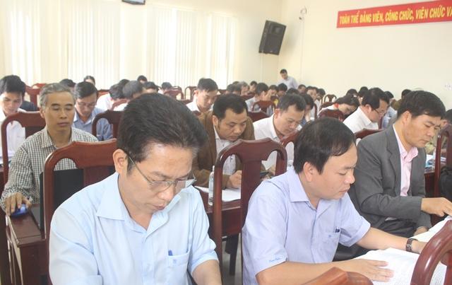 Sở Nội vụ triển khai nhiệm vụ công tác năm 2018
