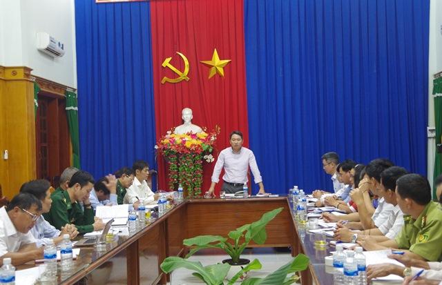 Đoàn công tác UBND tỉnh Đắk Lắk thăm và làm việc tại huyện Ea Súp