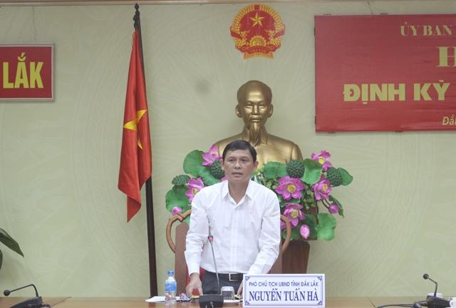 UBND tỉnh họp báo định kỳ tháng 12/2017