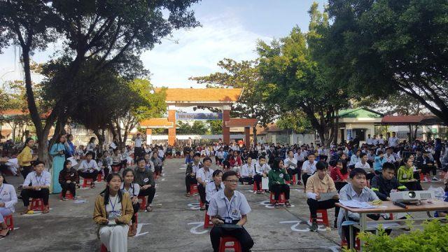 Tổ chức cuộc thi thi Rung chuông vàng năm học 2017-2018