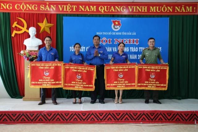 Tổng kết công tác Đoàn và phong trào thanh thiếu nhi tỉnh Đắk Lắk năm 2017 và triển khai chương trình năm 2018