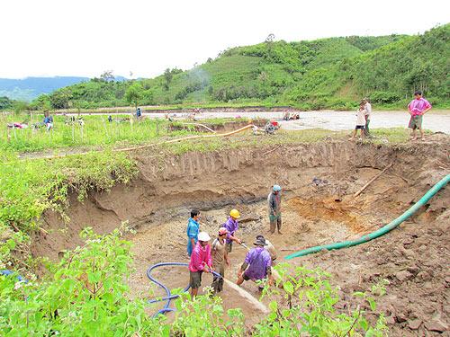 Thăm dò, khai thác khoáng sản trên địa bàn tỉnh