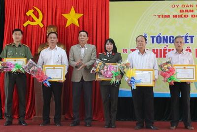 """Tỉnh Đắk Lắk tổ chức Lễ tổng kết và trao giải Cuộc thi  """"Tìm hiểu Bộ luật Dân sự năm 2015"""""""