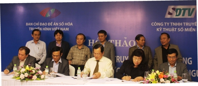 Hội thảo triển khai Đề án số hóa truyền dẫn phát sóng truyền hình mặt đất khu vực Nam Trung Bộ, Tây Nguyên