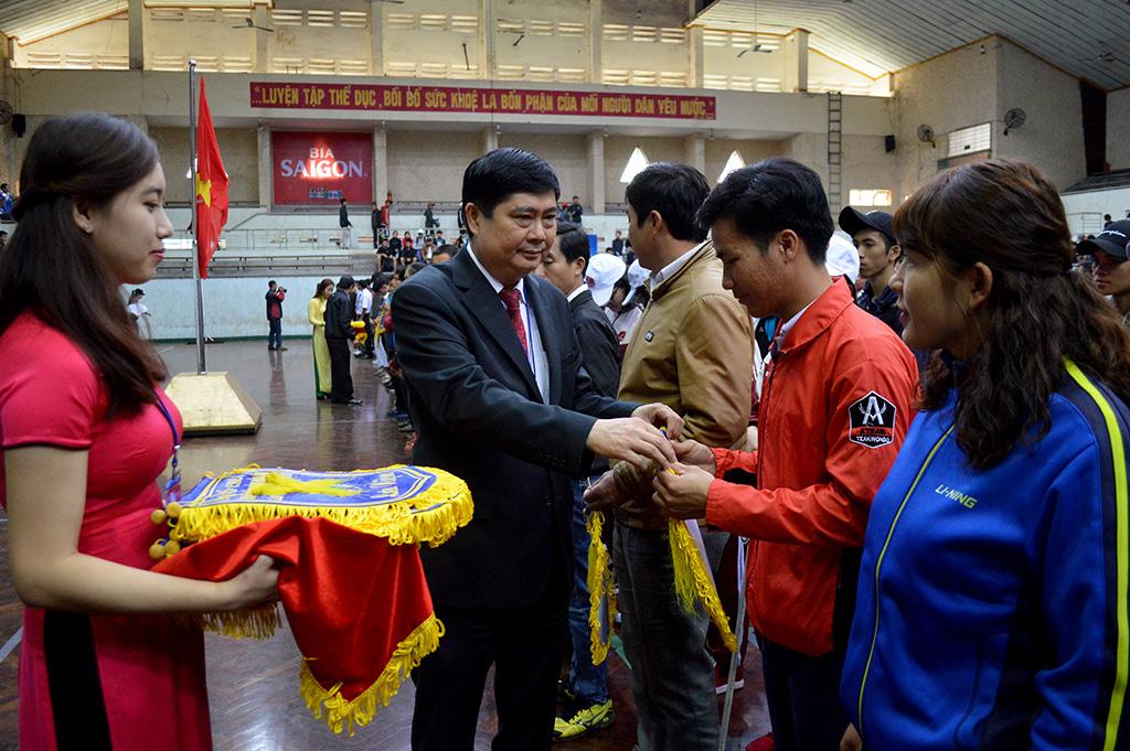 Hơn 1.350 VĐV tham gia Hội khỏe Phù Đổng tỉnh Đắk Lắk lần thứ XIV