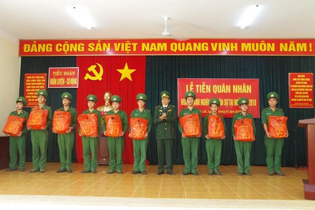 Bộ đội Biên phòng tỉnh Đắk Lắk: 65 quân nhân hoàn thành nghĩa vụ quân sự trở về địa phương
