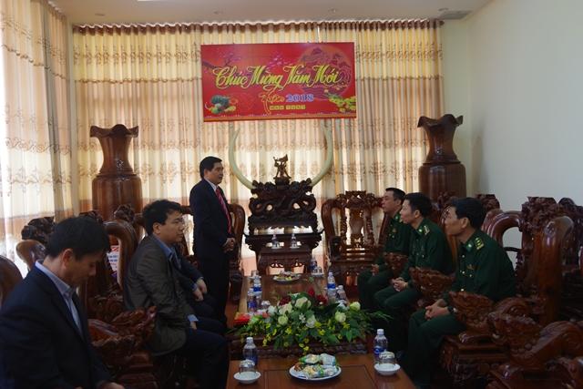 Đoàn đại biểu Quốc hội tỉnh Đắk Lắk thăm và chúc Tết Bộ Chỉ huy BĐBP tỉnh Đắk Lắk