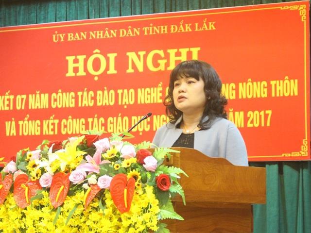 Đắk Lắk phấn đấu đào tạo nghề cho 26.600 lao động nông thôn trong giai đoạn 2018-2020