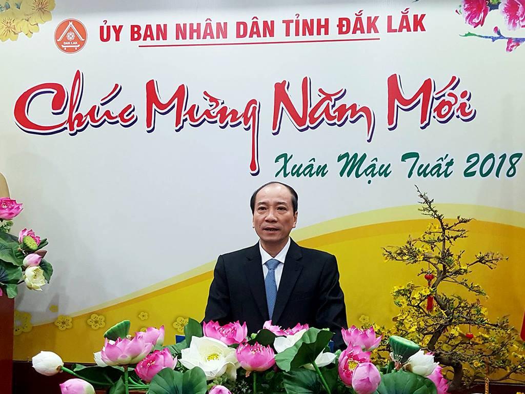 Lời chúc Tết của Chủ tịch UBND tỉnh Đắk Lắk