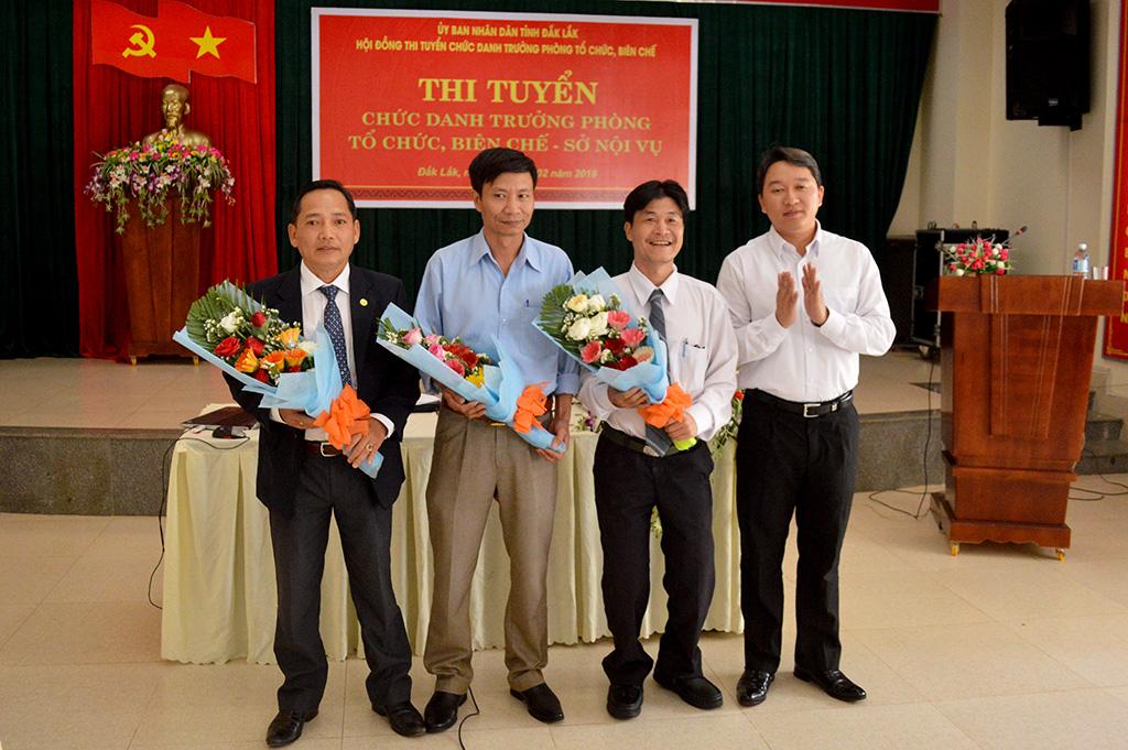 Thi tuyển chức danh Trưởng phòng Tổ chức biên chế Sở Nội vụ: 03 ứng viên tham gia phần trình bày đề án