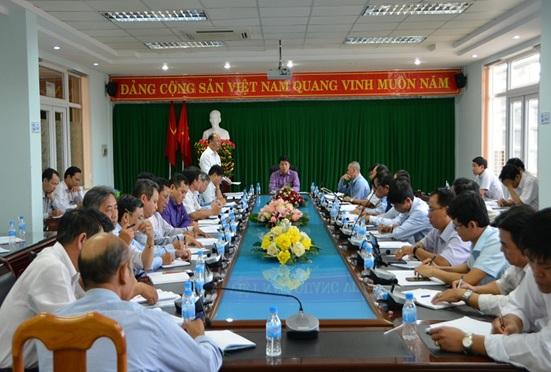 Thường trực Thành ủy: Hội nghị giao ban tháng 2 với Bí thư Đảng ủy các phường, xã