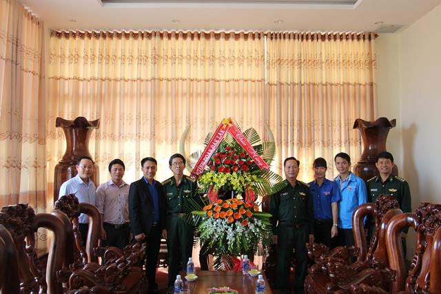 Thăm chúc mừng Bộ Chỉ huy Bộ đội Biên phòng tỉnh nhân Ngày truyền thống Bộ đội Biên phòng