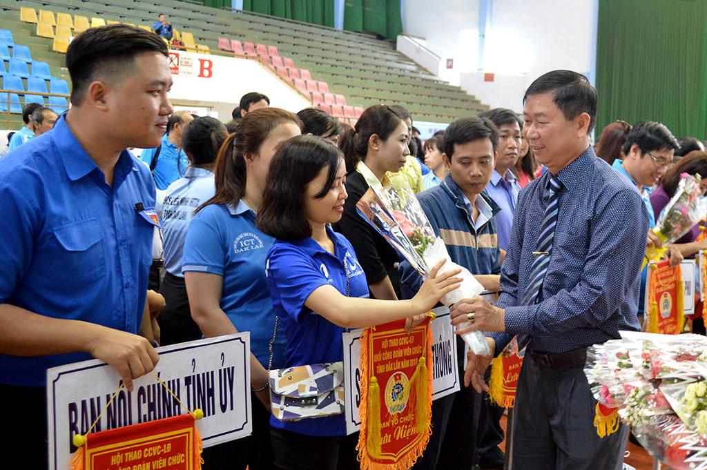 Hơn 700 vận động viên tham gia Hội thao Công chức, Viên chức, Lao động năm 2018
